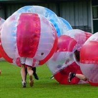 bubbel voetbal bubble bumper drenthe verhuur bouwman