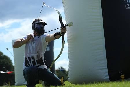 Archery Tag Shootout Drenthe Groningen bedrijfsuitje teamuitje