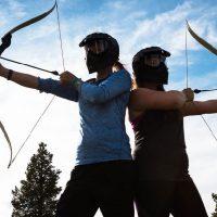 Archery tag shootout teamuitje Drenthe Groningen boogschieten