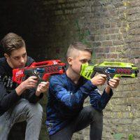 Lasergame kinderfeestje Drenthe