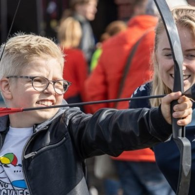 Boogschieten drenthe groningen activiteit kinderfeestje