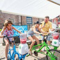 Smoothiefiets blender bike trapfiets gezond